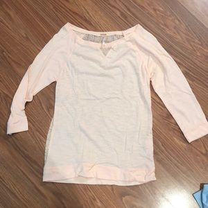 Peachy 3/4 sleeve shirt
